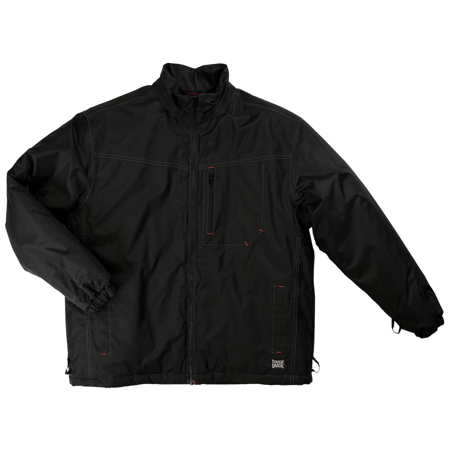 Tough Duck WJ14 Poly Oxford 3-In-1 Parka | Black | Limited Size Selection Work Wear - Cleanflow