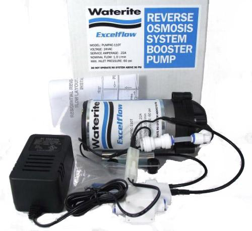 Waterite Reverse Osmosis System Booster Pump Kit