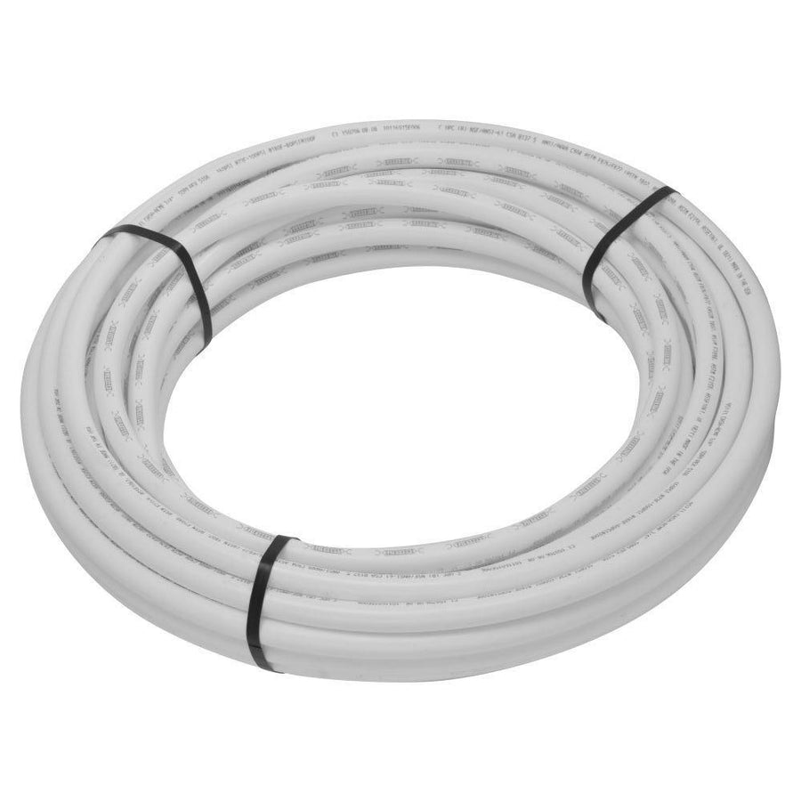 White PEX Tubing Rolls Tubing and Fittings - Cleanflow