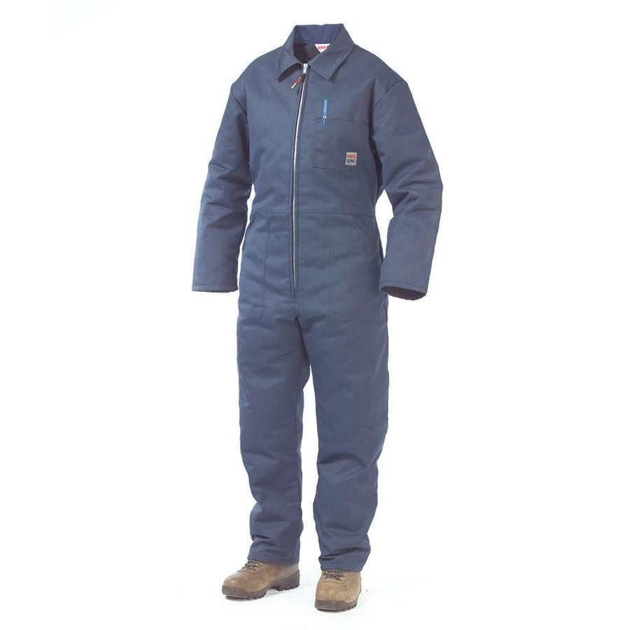 Tough Duck 7121 Classic Insulated Twill Coveralls | Navy | S-3XL