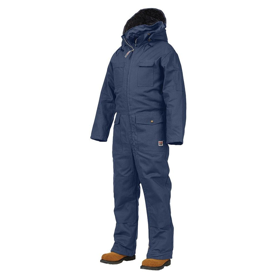 Work King 7760 Deluxe Insulated Cotton Duck Coveralls | Navy | S-5XL