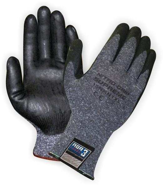 Workhorse Premium Nitro Grip Nitrile Palm Knit Gloves | M-XL | Pk/12 Work Gloves and Hats - Cleanflow