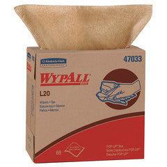 Wypall L20 Industrial Wipers | 88 per Box | Case of 10 Janitorial Supplies - Cleanflow