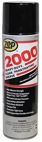 Zep 2000 Heavy-Duty Aerosol Penetrating Grease | 13 oz Can - Case of 12