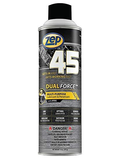 Zep 45 Dual Force Penetrant and Lubricant | 20 oz Can - Case of 12