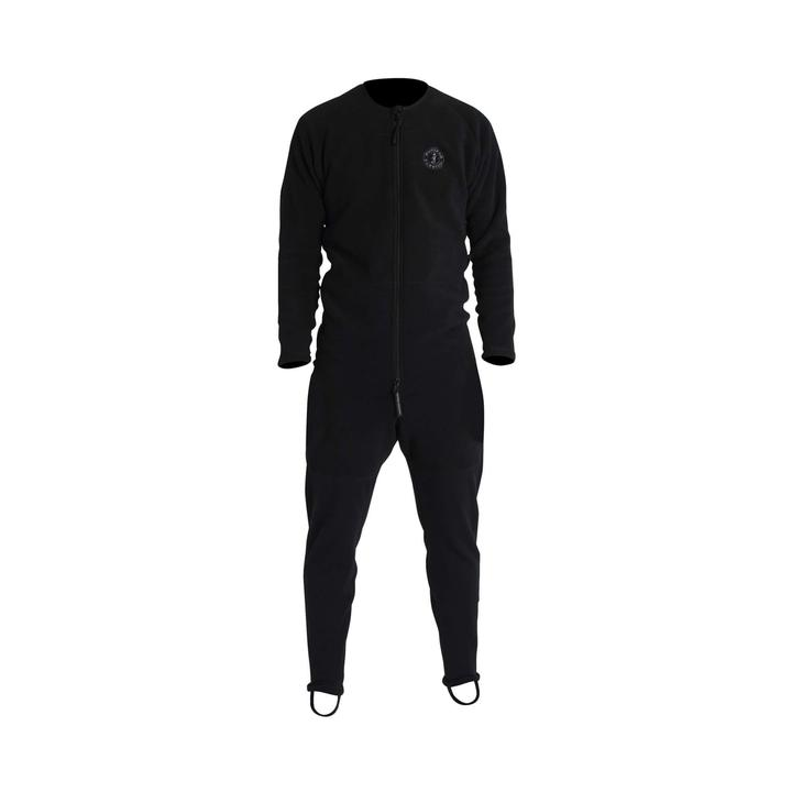 Mustang Survival Sentinel Series Dry Suit Layer With Drop-Seat | Black | XS-3XL