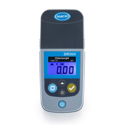 Hach DR300 Pocket Colorimeter for Free/Total Chlorine and pH Water Testing Equipment - Cleanflow