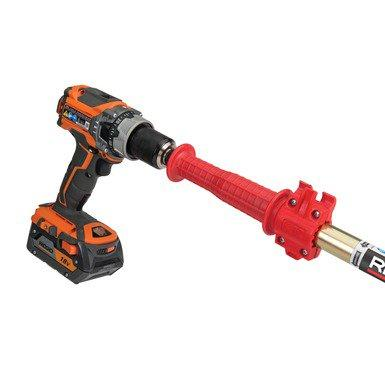 Ridgid K6P Toilet Auger - 6 Foot Cable - Optional Drill Attachment Pipe Cleaning and Thawing - Cleanflow