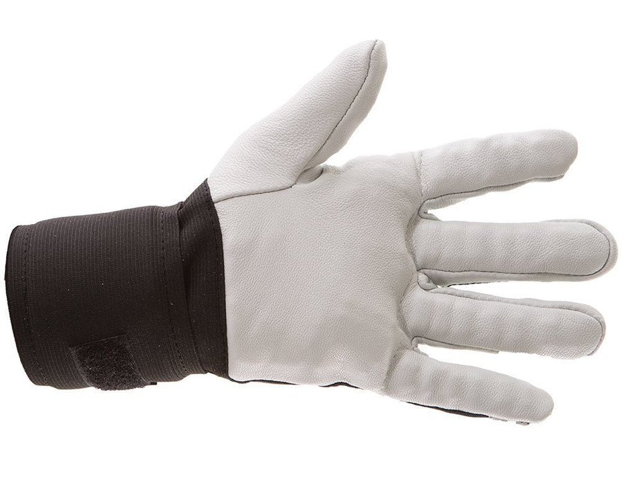 Impacto Anti-Vibration Pearl Leather Series Full Finger Glove with Carpal Tunnel Wrist Support and Air Glove® Technology