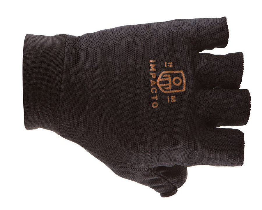 Impacto BG505 Air Glove® Liner Half Finger Work Gloves and Hats - Cleanflow