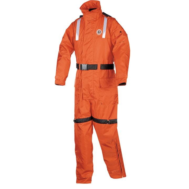 Mustang Survival Classic Flotation Suit | Orange | XS-3XL Personal Flotation Devices - Cleanflow