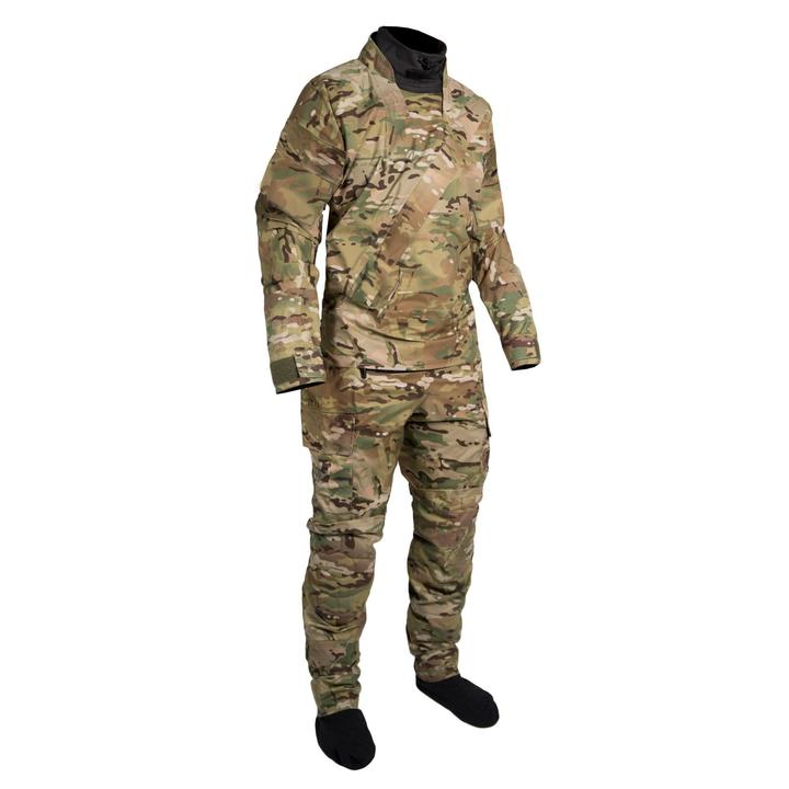 Mustang Survival Sentinel Series Lightweight Special Operations Dry Suit | Camo | S-3XL Short Personal Flotation Devices - Cleanflow