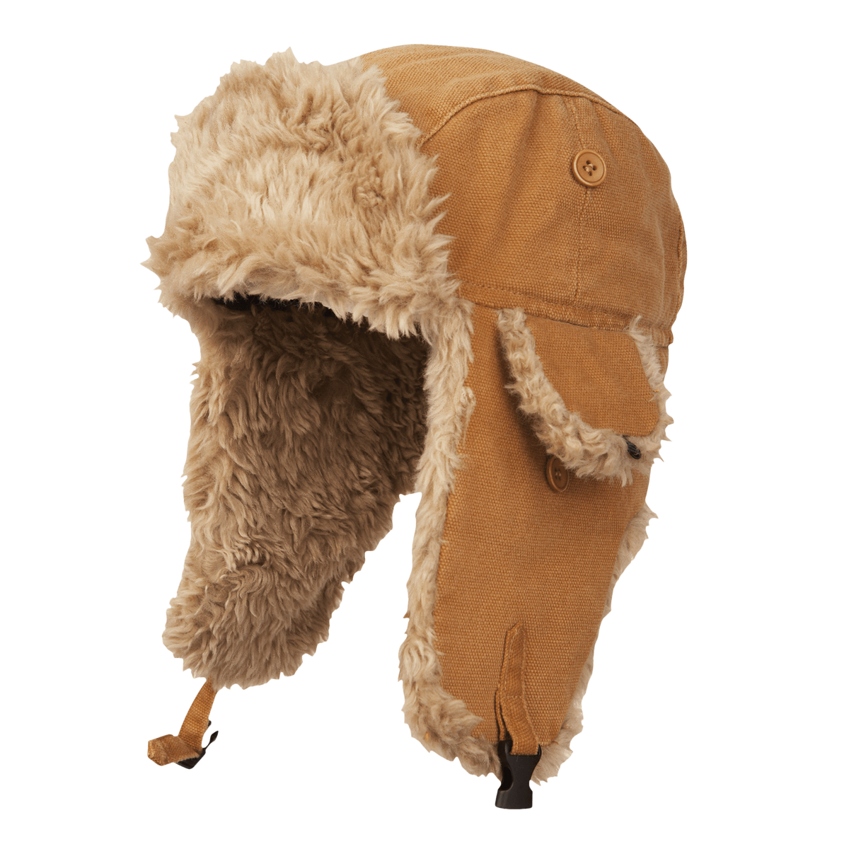 Tough Duck Aviator Hat | Brown Work Gloves and Hats - Cleanflow