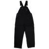 Tough Duck i198 Unlined Bib Overall | Black | S-3XL Work Wear - Cleanflow
