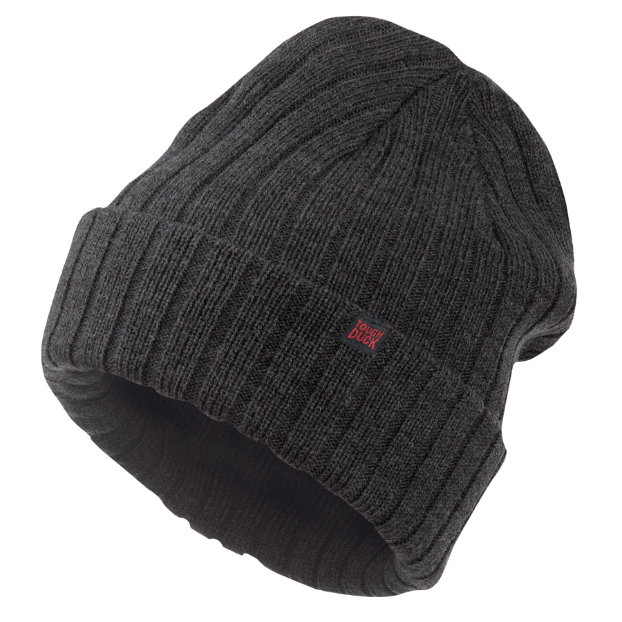 da19693ea7078d Tough Duck i45916 Chunky Knit Watch Cap | Charcoal Work Gloves and Hats -  Cleanflow