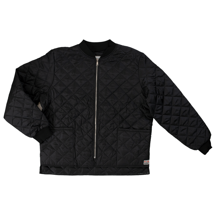 Tough Duck i7x9 Quilted Freezer Jacket | Black | Regular & Tall Sizes