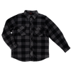 Tough Duck i964 Buffalo Check Fleece Work Shirt | Grey Plaid | Sizes Medium - 3XL Work Wear - Cleanflow