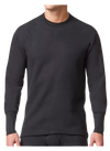 Stanfield's 7567 Microfleece Long Sleeve Shirt | Black | Sizes S - 2XL | Pack of 2 Pairs Work Wear - Cleanflow
