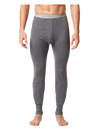 Stanfield's 1452 Two-Layer Long Johns | Charcoal | Sizes S - XL | Pack of 2 Pairs Work Wear - Cleanflow