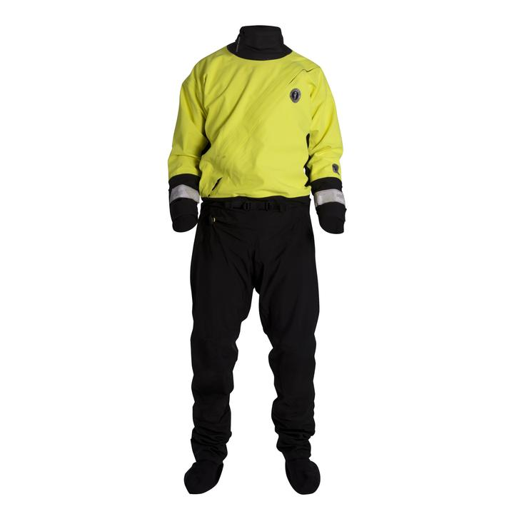 Mustang Survival Water Rescue Dry Suit | Yellow/Black | M-2XL Personal Flotation Devices - Cleanflow