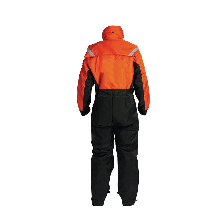 Mustang Survival Deluxe Anti-Exposure Overall and Flotation Suit | Orange/Black | XS-3XL Personal Flotation Devices - Cleanflow