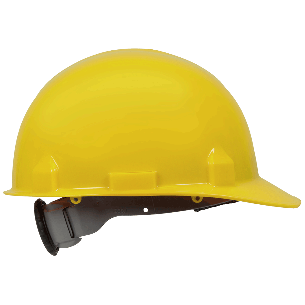 Jackson SC-6 Premium Type 1 Front Brim 4-Point Ratchet Suspension Hard Hat | Yellow Personal Protective Equipment - Cleanflow