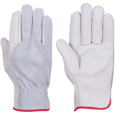 Pioneer 535G Beige Goatskin Driver Gloves | Pack of 12 Pairs Work Gloves and Hats - Cleanflow
