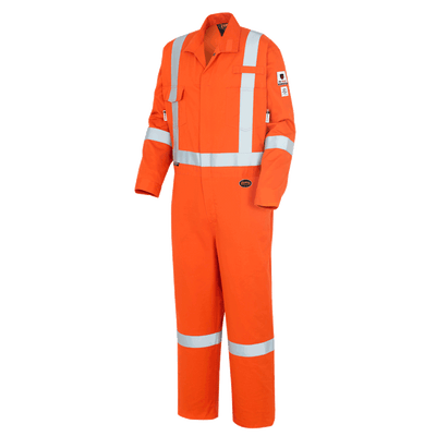 "Pioneer ""The Rock"" 88/12 FR-Tech® Hi Vis 7 oz Coveralls with 2"