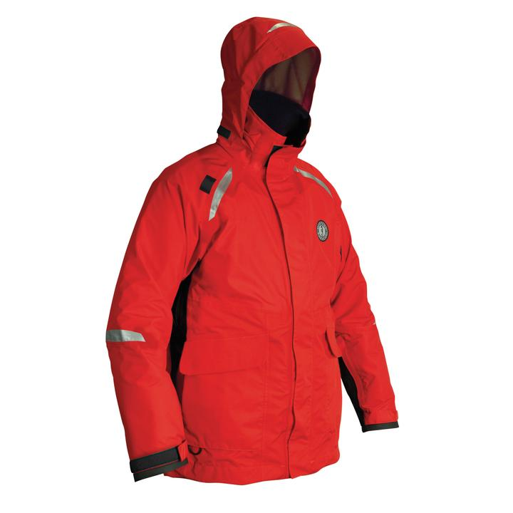 Mustang Survival Catalyst Flotation Coat - Harmonized | Red/Black | S-3XL Personal Flotation Devices - Cleanflow