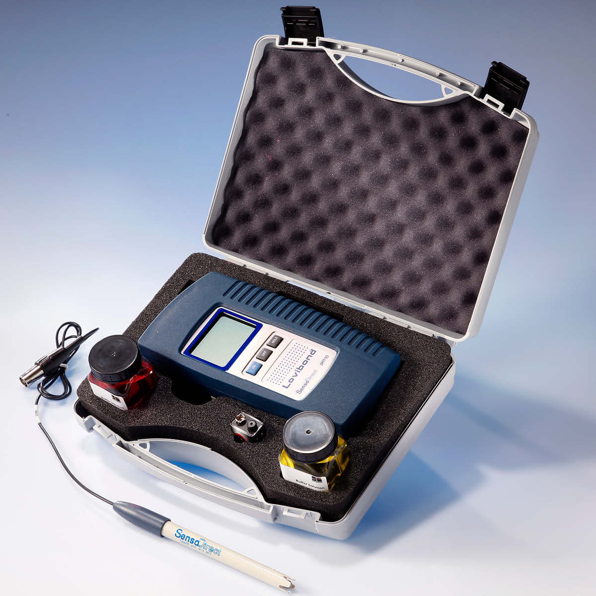 Lovibond SensoDirect 110 Portable pH Kit with Electrode Water Testing Equipment - Cleanflow