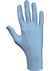 Showa 7500PF Blue Nitrile 4-Mil Biodegradable Powder-Free Examination Gloves - Box of 100