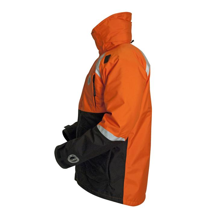 Mustang Survival Catalyst Flotation Coat - Harmonized | Orange/Black | S-3XL Personal Flotation Devices - Cleanflow
