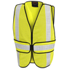 Pioneer Basic Hi-Viz All-Purpose Tearaway Vest | One Size Fits All | Yellow Hi Vis Work Wear - Cleanflow