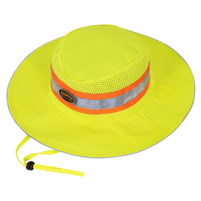 Pioneer Hi-Viz Ranger's Hat | Yellow Personal Protective Equipment - Cleanflow