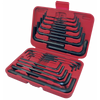 Hex Key Wrench Set - SAE/Metric - 30 Piece Mechanic Tools - Cleanflow