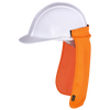 Pioneer Hard Hat Solid Poly Sun Shade | Orange Personal Protective Equipment - Cleanflow