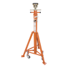 "Strongarm Stabilizing Stand - 15,000 Lb Capacity - High Fixed Stand - 57"" to 82"" range Shop Equipment - Cleanflow"