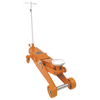 Strongarm Heavy Duty Service Jack - 10 Ton Capacity Shop Equipment - Cleanflow