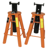 Strongarm Low Profile Jack Stand Set - 10 Ton Shop Equipment - Cleanflow
