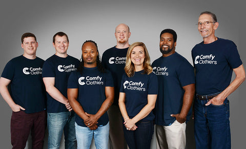 Comfy Clothiers Team Photo