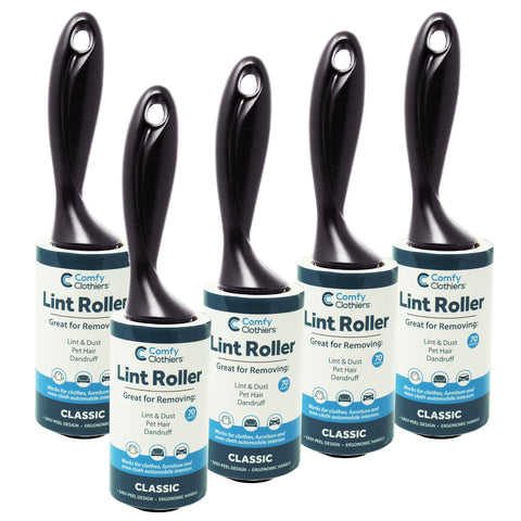 Classic Lint Rollers (5-Pack)