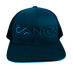 Flat bill Canyon trucker - navy blues
