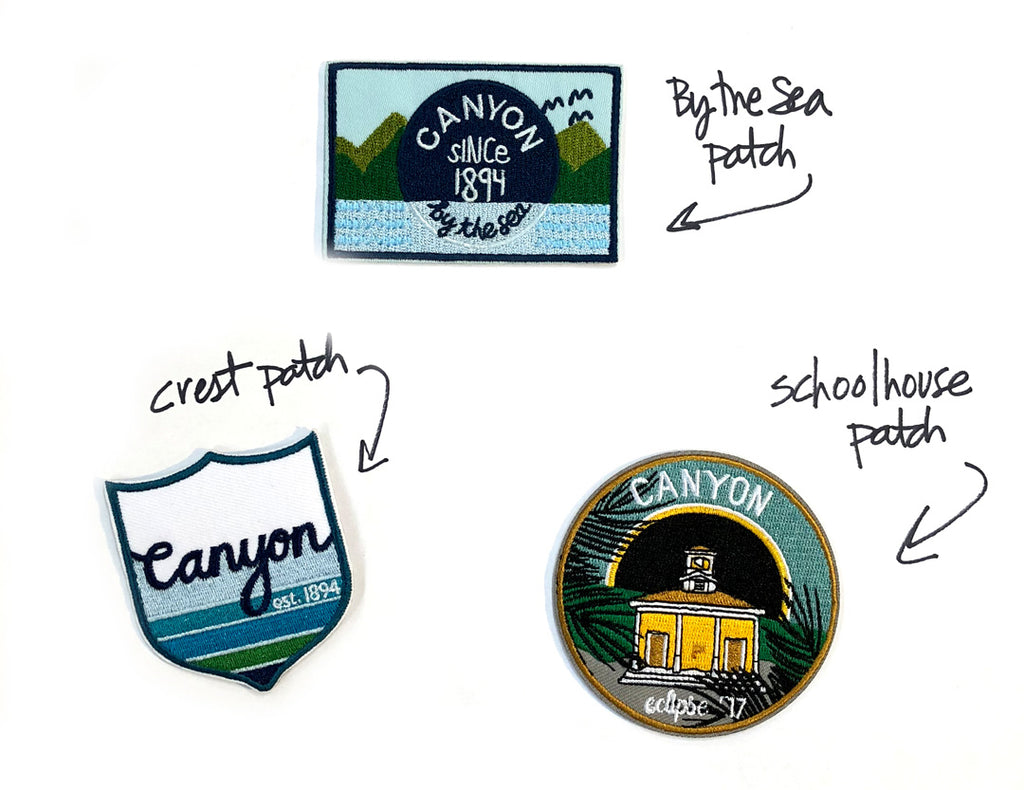Exclusive Canyon patches