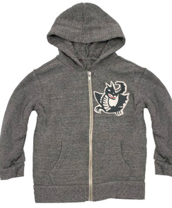 Youth Cascadia Zip Hoodie - w/ Dragon Patch