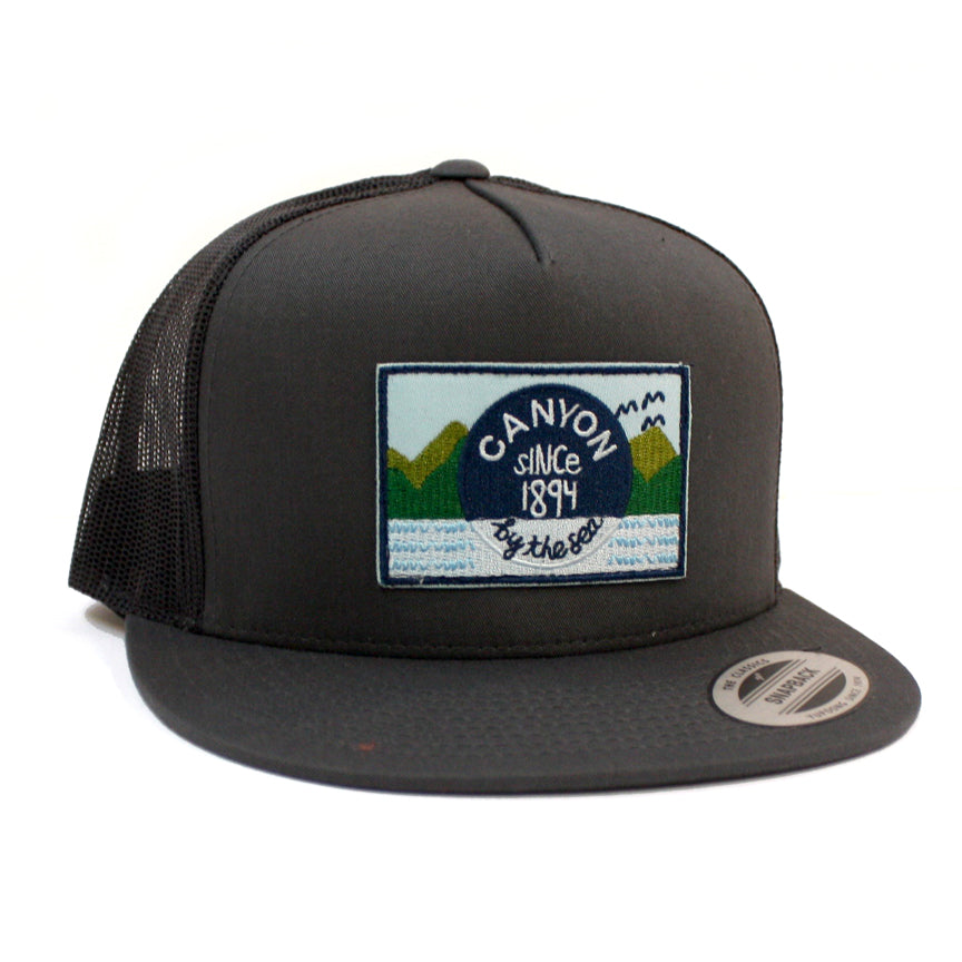 P4.  Trucker Hat - Dark Grey