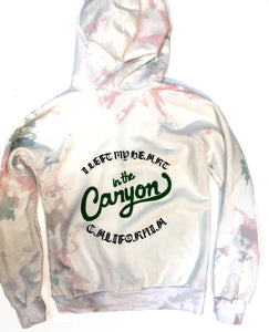 E.  Custom Youth Latimer hoodie - Cotton Candy wash