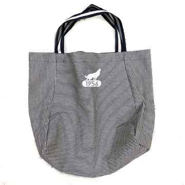 Kenter Denim Stripe Apron Tote