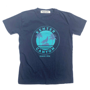 Kenter Kids Crew Neck Tee - Navy size XS, S, M