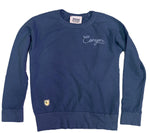 Q. Adult Mesa Chainstitch sweatshirt in Navy