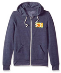Adult Tri-blend Sunshine patch Hoodie - navy